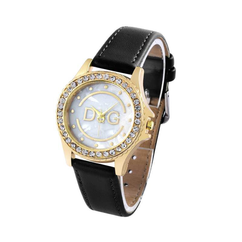 relogio feminino 2018 Memorial Gift Women Fashion Crystal Watch Women's Casual Leather Belt Quartz Wristwatch Hot reloj mujer