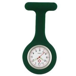Image 5 - Infirmière en silicone lumineux montres femmes dames médecin FOB montres de poche en gros médecin médical hôpital quartz accrocher montres