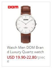 Women's Watches Brand Luxury DOM Fashion Casual Quartz Watches Waterproof Leather Wrist Watch Female Ladies Watch Clock New 1688