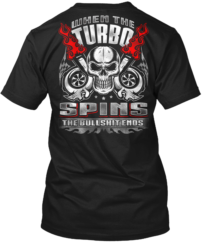 Fashion Print T Shirt Plus Size Summer Cotton Short Turbo When The Spins Men Gift O-Neck Shirts