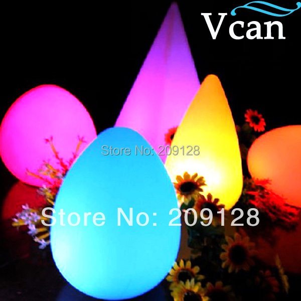 Waterproof indoor outdoor color changing remote control LED Table Light  V V-A004Waterproof indoor outdoor color changing remote control LED Table Light  V V-A004