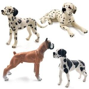 Image 4 - Далматинец бултерьер Лабрадор сибирская хаски, собака, фигурки животных, фигурки, домашний декор, подарок для детей, детские игрушки