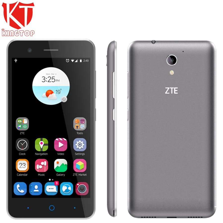 Original ZTE Blade A510 Mobile phone 5 0 inch 1GB RAM 8GB ROM MT6735P Quad core