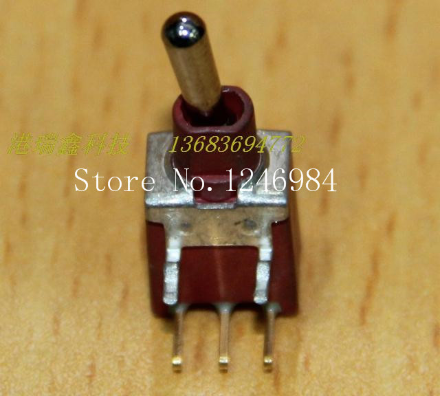 [SA]ES-6 triggered gilded single road is curved tripod waterproof single toggle switch resets small inventory M5.08 { }--100PCS/ inventory accounting