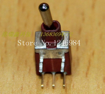[SA]ES-6 triggered gilded single road is curved tripod waterproof single toggle switch resets small inventory M5.08 { }--100PCS/