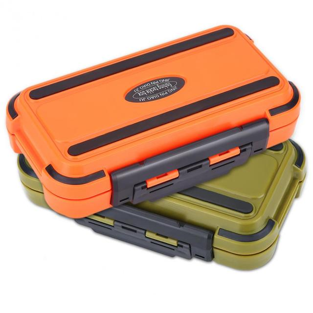Large 24 Compartments Waterproof Fishing Box Storage Case Double Side Sea Boat Distance Carp Fly Fishing Tackle Accessories Gear