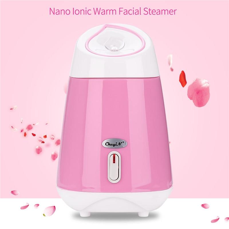 120ml Portable Nano Spray Mist Facial Steamer Vapor Vaporize Face Spray Spa Hydrating Face Steam Machine Skin Beauty Care