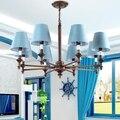 Скандинавская креативная Люстра С Одной Птицей для гостиной  ресторана  кофейный фонарь  индивидуальная железная Люстра для окна