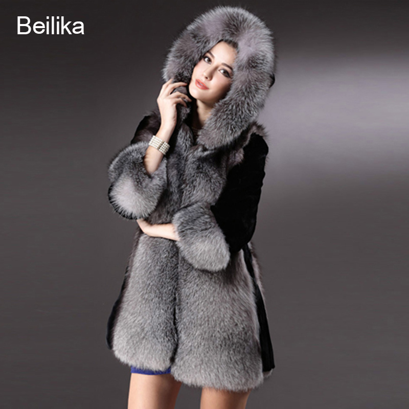 Aliexpress.com : Buy 2015 Winter Women Faux Fur Coat Long Thicken