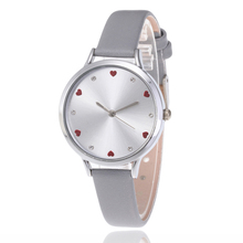 INS/CHIC Heart Watches Women's Fashion Crystal Luxury Brand