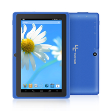 Cheapest Yuntab 7 inch Quad core Q88 1.5GHz android 4.4 tablet pc allwinner A33 512M 8GB ROM Capacitive Screen Dual cam WIFI