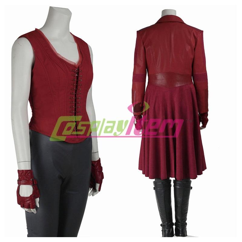 Captain America Civil War Scarlet Witch Costume Adult Wanda Maximoff