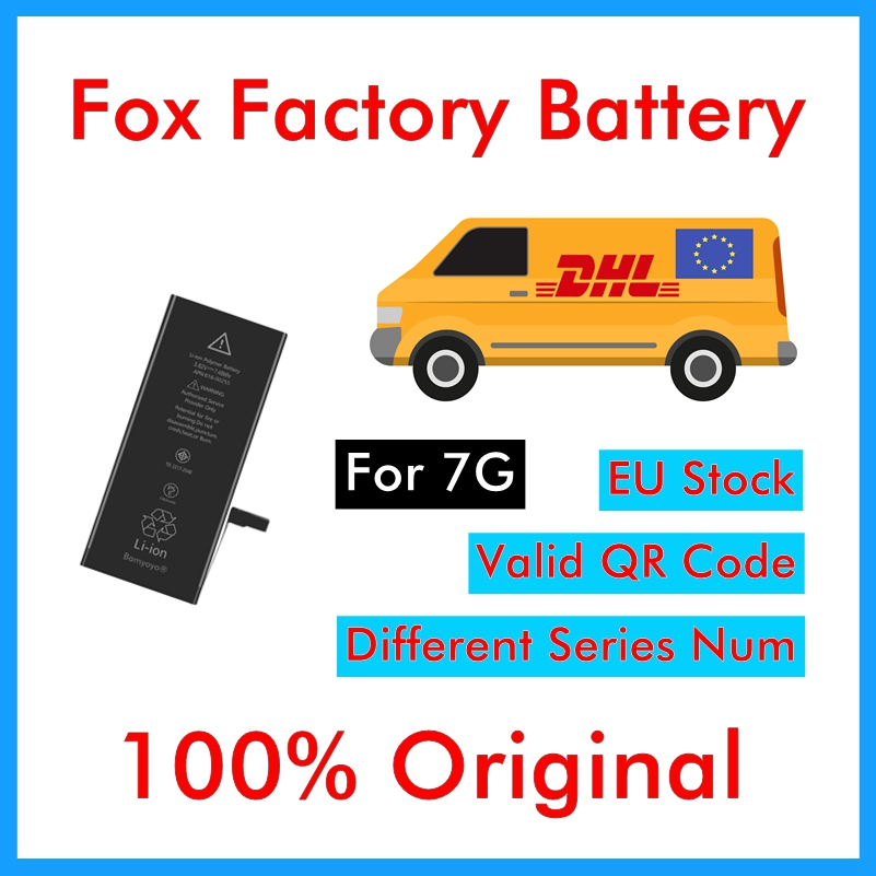 Battery-1960mah-Battery iPhone DHL Ce for 7G Factory UPS 50pcs/Lot Cycle Foxcon 100%Original