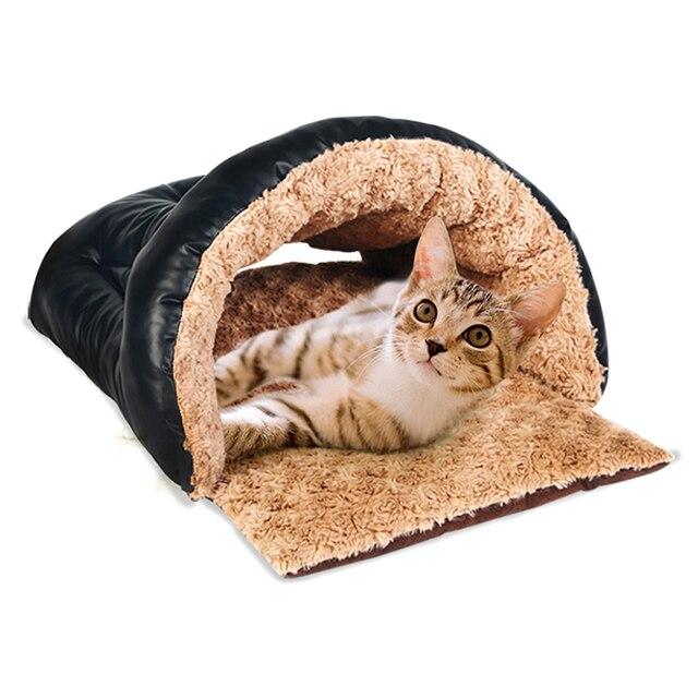 Petforu 52 36 26cm Scratch Resistant Comfortable Pet Sleeping Bag Cats Dogs Warm