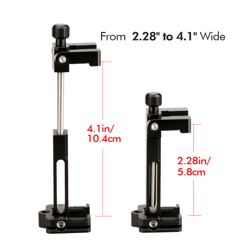 cheapest Ulanzi PT-3 Gimbal Accessories Triple Cold Shoe Mounts Plate Microphone Led Video Light Extension Bracket Microphone Stand