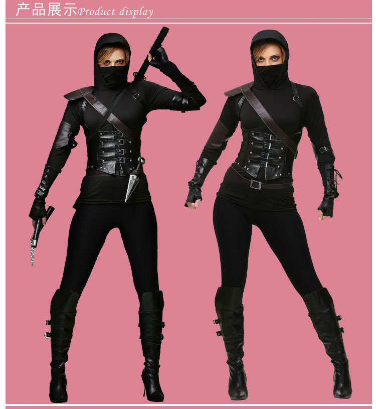 665226ab9c IREK hot womens ninja assassin Halloween Costume new cosplay costume luruxy  top quality performance clothing-in Girls Costumes from Novelty   Special  Use on ...