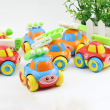1PC Children Classic Toy Inertia Car Mini Model Boys Military Vehicles Cartoon Educational Toys for Baby 0-12 -24 Months