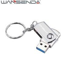 WANSENDA USB 3.0 USB Flash Drive mteal pen drive with key ring 64gb 32gb 16gb 8gb 4gb external storage flash drive usb stick
