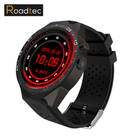 ROADTEC KW88 Montre Smart Watch MTK6580 Android 5.1 3G/2G Montre Smart Watch moniteur de fréquence Cardiaque GPS WIFI hommes/femmes adulte carte sim smartwatch