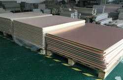 1 ud. Revestimiento de cobre laminado dos placas laterales CCL 50*60CM 2,0mm 1OZ FR-4 placa Universal práctica PCB DIY Kit 500*2 600mm
