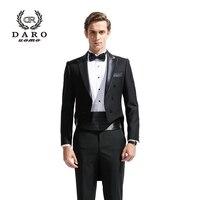 2019 Новое мужское модное торжественное платье смокинг костюм мужской костюм набор мораль деловые свадебные костюмы DARO8880