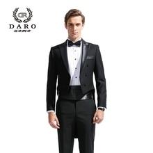 (Vest + suit + pants) 2018 New Men's Fashion Formal Dress Blazer Tuxedo Suit  Male Suit Set Morality Business Wedding Suits