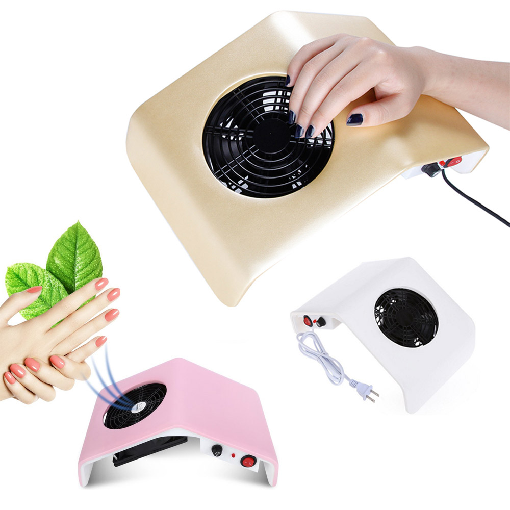 30W Nail Dust Collector Manicure Vacuum Cleaner UV Gel Tip Dust Cleaner Manicure Extractor Vacuum Manicure Dust Collector Tools-in Nail Art Equipment from Beauty & Health
