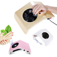 30W Nail Dust Collector Manicure Vacuum Cleaner UV Gel Tip Dust Cleaner Manicure Extractor Vacuum Manicure Dust Collector Tools