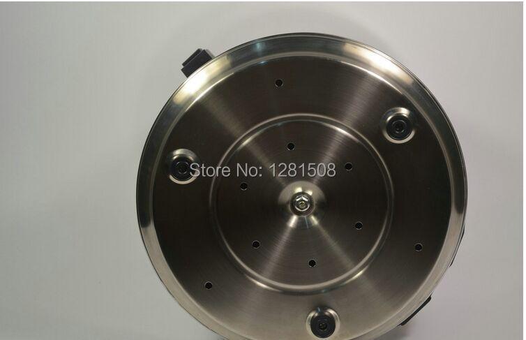 Certificato CE distillatore D'acqua In Acciaio Inox depuratore di acqua con vaso di vetro e corpo in acciaio - 4