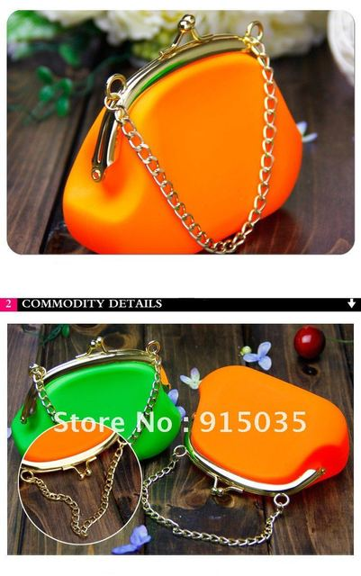 Wholesale Girl's Fashion Bag, Silicone Bags, Kids Bags , Candy color, Free Shipping