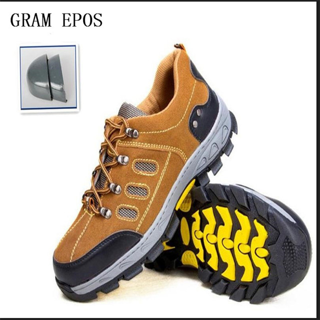 f9035e2d4d5 US $57.0 |Men Hard Sole Anti Puncture Boots Work Safety Shoes Steel Toe Cap  For Anti Smashing Proof Durable Breathable Protective Footwear-in Work & ...