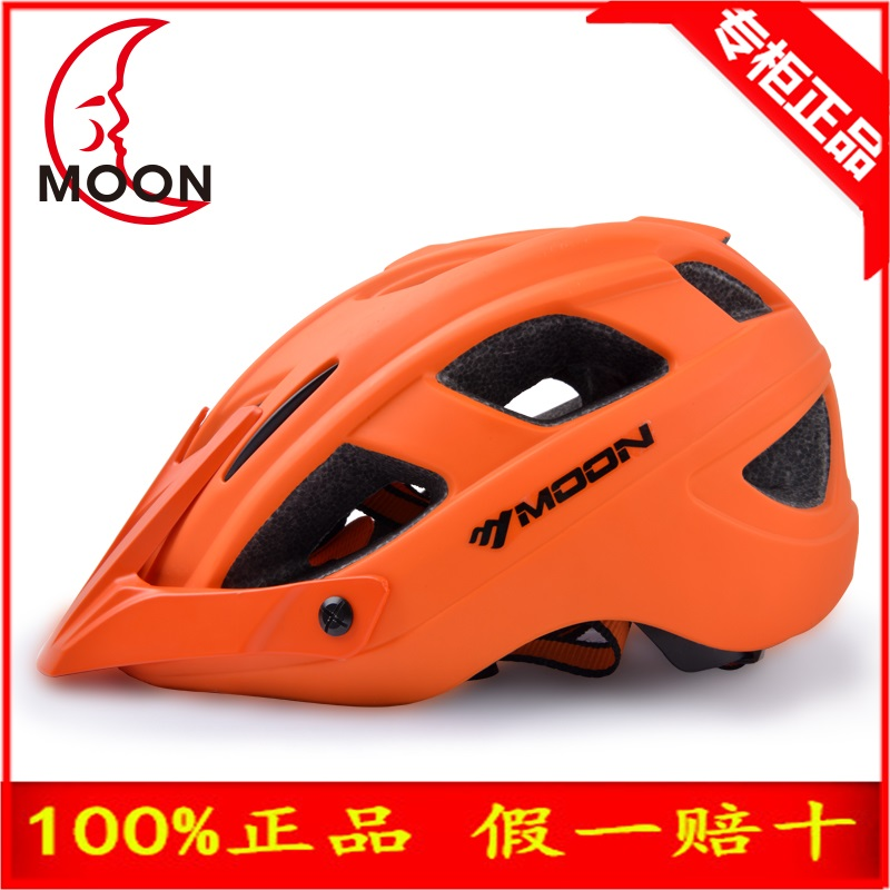 ФОТО MOON Hot Sale Cycling Helmet CE Certification Bike Ultralight Bicycle Helmet 260g 6 Color AM ENDURO Bike Helmet Casco Ciclismo