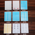 Hot Sale  Different Pattern  Tattoo Practice Skin for  Eyebrow Lips Tattoo Accessories 5pcs