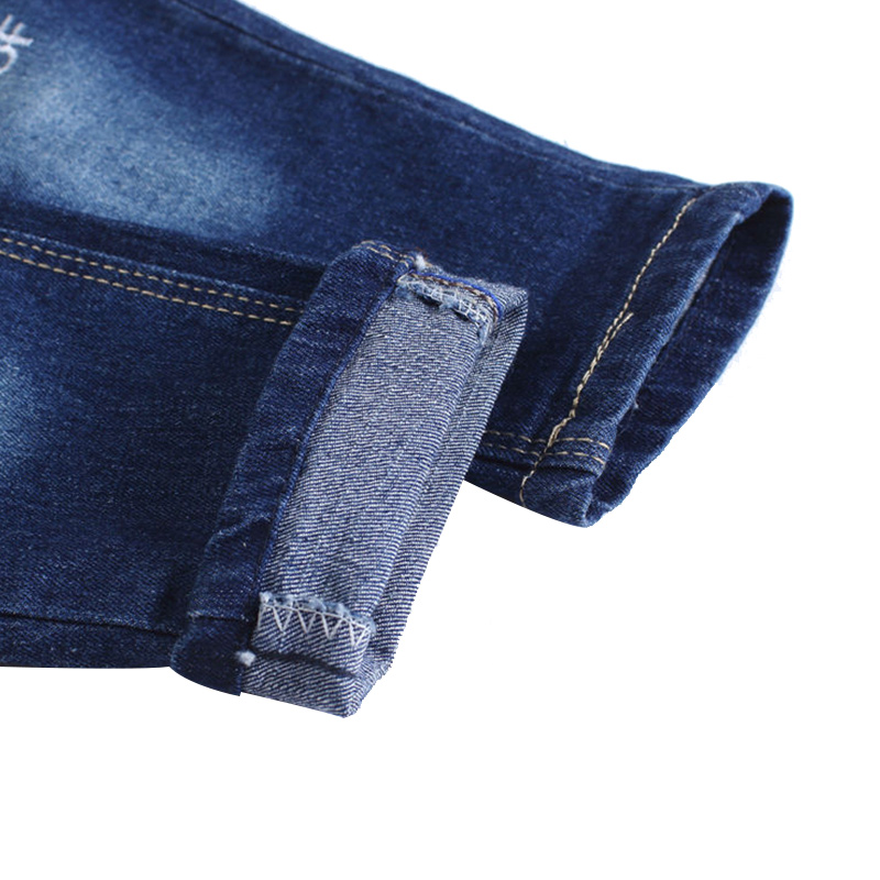 New Patch Boys Jeans Pants Spring Autumn Print Kids Jeans Trousers 2017 Baby Jeans With Embroidery Ripped Denim Trousers Baby (1)