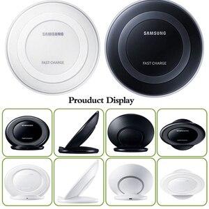 Image 3 - Qi Wireless Fast Charger มาตรฐานพับได้ Pad ชาร์จสำหรับ Samsung Galaxy S7 Edge S8 S9 S10 S10e หมายเหตุ 8 9 iphone 8 plus X XS XR