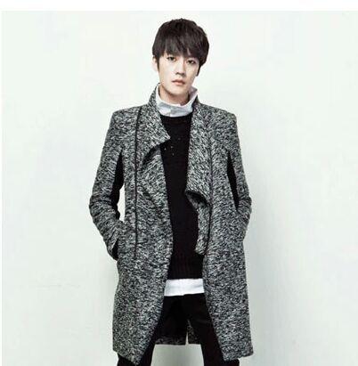 Novos Homens Oblíqua Zipper Cardigan Sweater Moda Longos Casacos De Malha Outono E Inverno Tamanho Grande Masculino Casaco de Malha S/4Xl J304