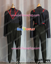 Japanese Anime Outfit Fullmetal Alchemist Cosplay Greed Uniform Costume H008