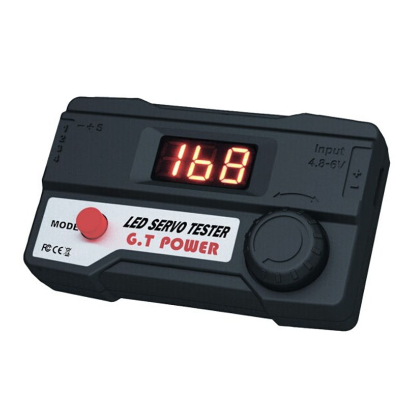 RC hobby GT Power servo tester with LED display