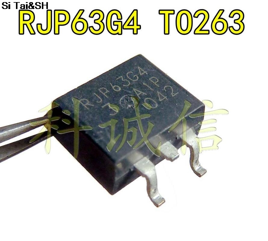 3pcs//lot RJP63G4 TO-263 63G4 TO263 IGBT 600V New Original in Stock