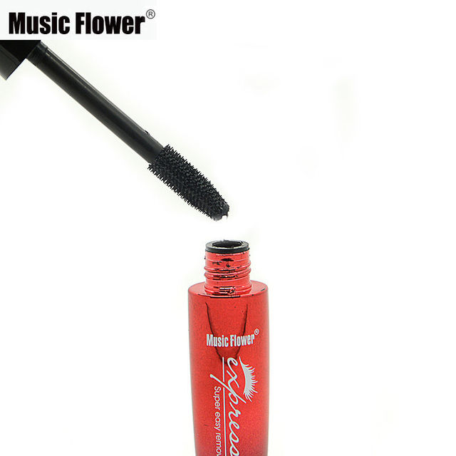 Music Flower Makeup 3D Waterproof Brand Black Mascara