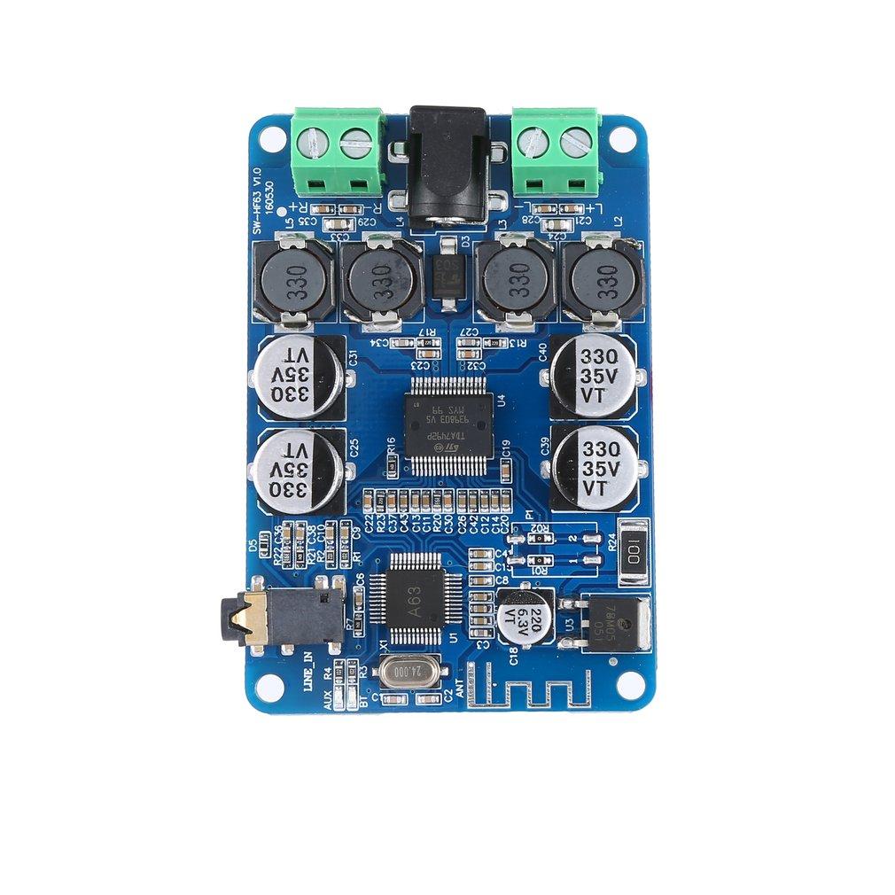 Ultra-Small Digital Power Amplifier Board Power Amplifier Board Speaker Modified Power Amplifier Board 2X25W Hf63