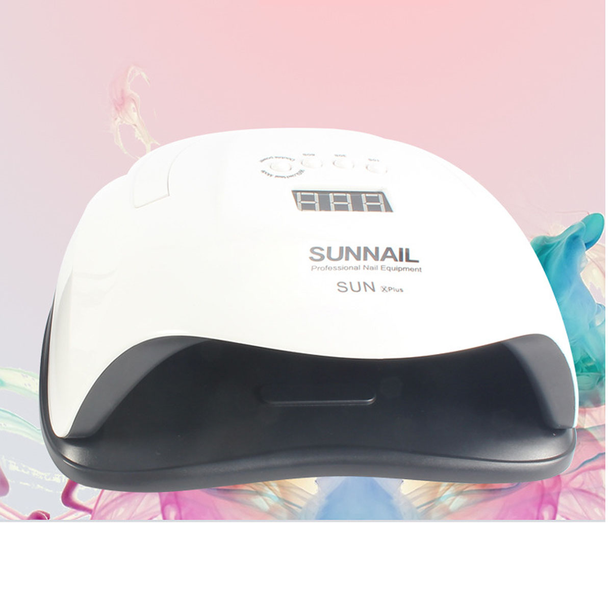 1PCS SUNX 48W Nail Dryer UV LED Nail Lamp Gel Polish Curing Lamp with Bottom 30s 60s Timer LCD Display Lamp for Nail Dryer in Nail Dryers from Beauty Health