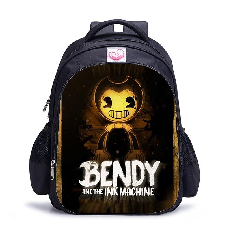 16 Inch Bendy Children School Bags Orthopedic Backpack Kids School Boys Girls Mochila Infantil Catoon Bags