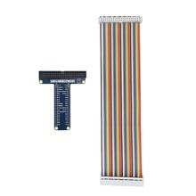 Raspberry Pi 40pin GPIO Extension Board + 40 Pin GPIO Kabel Adapter Buchse auf Buchse kompatibel für Orange Pi Raspberry pi 4/3