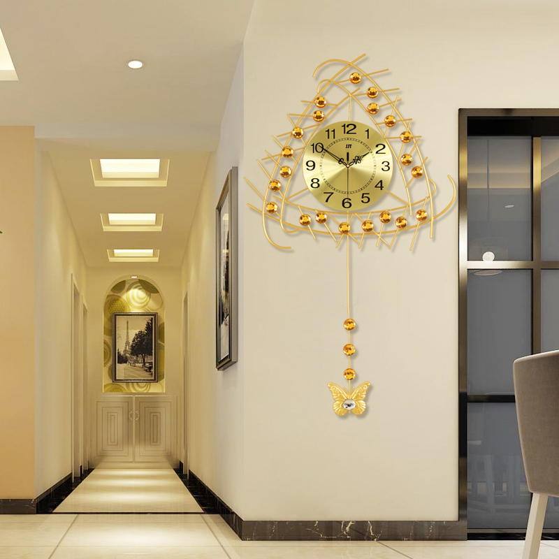 Horloges lumineuses salon horloge murale grand moderne bref mode muet décoration montre pendule horloge quartz horloge