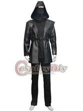Cosplaydiy Green Arrow Malcolm Merlyn Adult Men Cosplay Costume The Dark Archer Halloween Suit Custom Made D0610