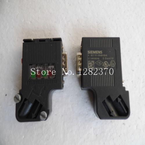 [SA] New German original - connector 6ES7 972-0BA60-0XA0 Spot --2pcs/lot original 4 1609155 2 connector