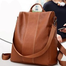 MoneRffi Women Backpack Purse PU leather backpack