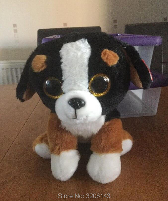 a8849bf0ed1 Ty Beanie Babies Roscoe the Bernese Mountain Dog Big Glitter Eyes 15cm  Plush Stuffed Animals Doll Toys Collection Christmas Gift-in Movies   TV  from Toys ...