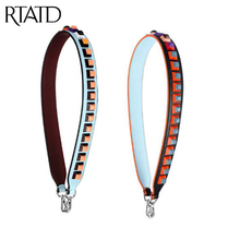 RTATD Fashion Handbags Belts Chic Bag Strap Cow Leather Women Bag Belts With Rivet M2728